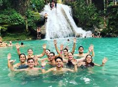 Irie Blue Hole & Dunn's River Falls Adventure Tour from Runaway Bay