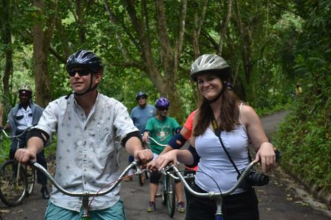 Shared - Blue Mountain Bicycle Tour from Kingston