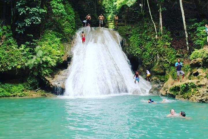 Irie Blue Hole Adventure & Bamboo Blu Beach Club Experience from Ocho Rios