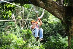 Canopy Adventure - Fly through the Dominican Jungle