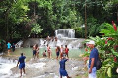 YS Falls and The Pelican Bar Adventure Tour from Montego Bay