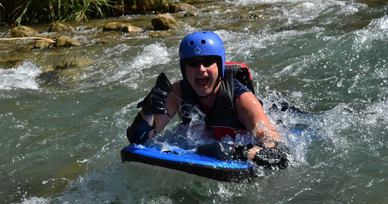 Jungle River Boarding Adventure Tour from Falmouth