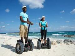 Blue Lagoon Island Segway Safari Tour from Nassau
