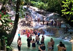 Dunn's River Falls, Blue Hole, Luminous Lagoon & Rose Hall Night Adventure Tour from Ocho Rios