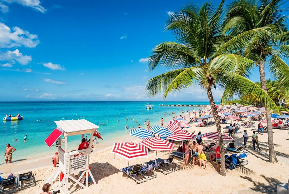 Doctor's Cave Beach & Margaritaville Shared Shuttle Service from Falmouth