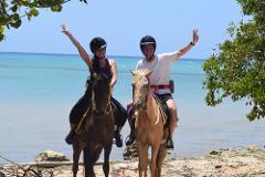 Safari + Horseback Riding Adventure Tour from Negril