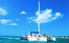 Negril Catamaran Cruise and Snorkeling Tour from  RIU Resorts in Negril
