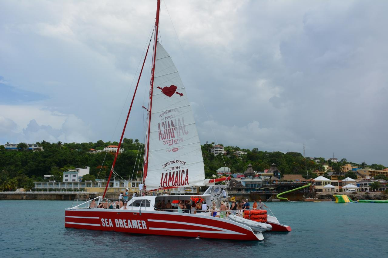 Montego Bay Catamaran Cruise and  Snorkeling Tour from Montego Bay