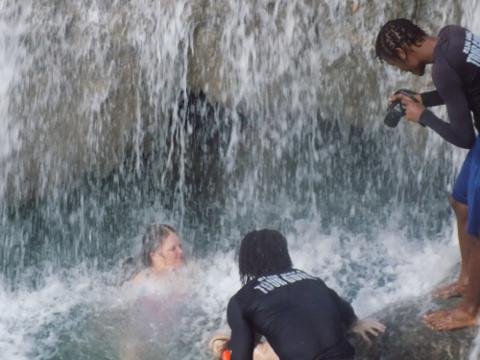 Blue Hole River Gully Rain Forest Adventure Tour from Montego Bay