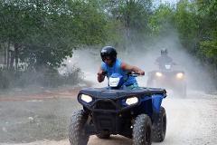 TRIPLE PLAY - ATV, Zipline and Safari Adventure Tour from Negril