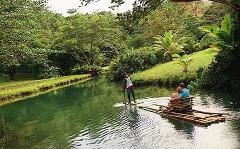 Rafting on the Martha Brae from Montego Bay