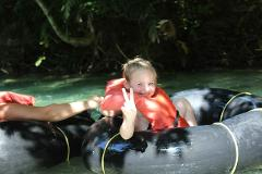 Calypso Jungle River Tubing Adventure from Ocho Rios