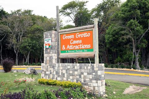 Green Grotto Cave Excursion