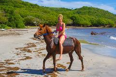 St. Lucia Horseback Ride & Swim Adventure