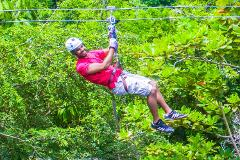 River Tubing, Ziplining And Blue Hole Adventure from Ocho Rios