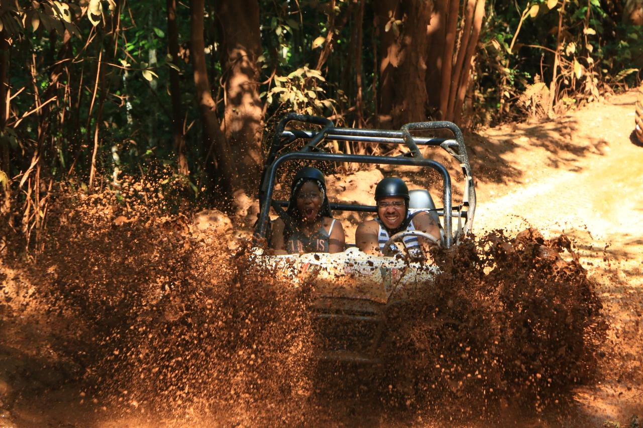 Wet N Dirty ATV Adventure Tour from Falmouth