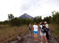 Volcano Hike Tour from La Fortuna