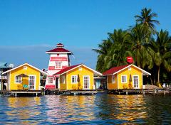 Bocas Del Toro Sightseeing and Beach Tour from Cahuita & Puerto Viejo