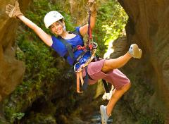 Costa Rica 4-Pack Adventure Combo from Guanacaste (Canopy Tour, Rock Climbing, Tarzan Swing, Hanging Bridges)