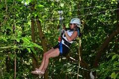 Mystic Mountain Canopy Zipline Tour from Falmouth