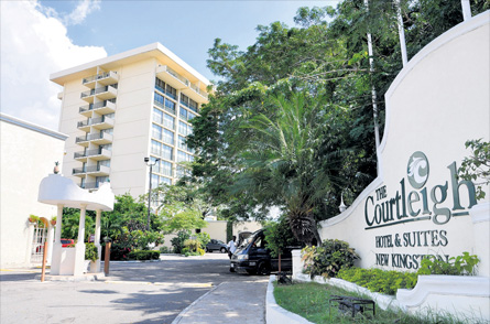 3 Days(2 nights) Vacation at The Courtleigh Hotel, Kingston Jamaica