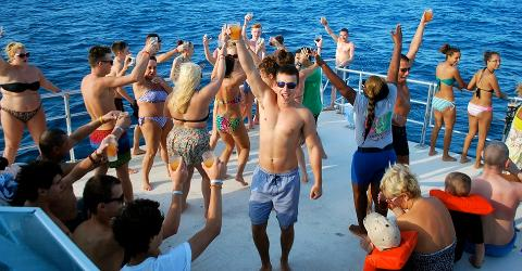 Catamaran Dunn's River Day Cruise & Snorkeling from Ocho Rios