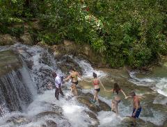 Dunn's River Falls Express Adventure Tour from Montego Bay
