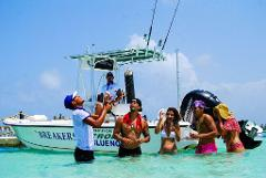 Breakers Family Snorkel and Fishing Tour from Punta Cana