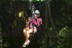 Canopy Zipline & Dunn's River Falls Adventure Tour from Ocho Rios