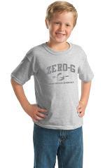 Youth Distressed Print T-shirt - Sport Grey