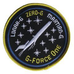 Lunar-G Zero-G Martian-G Patch