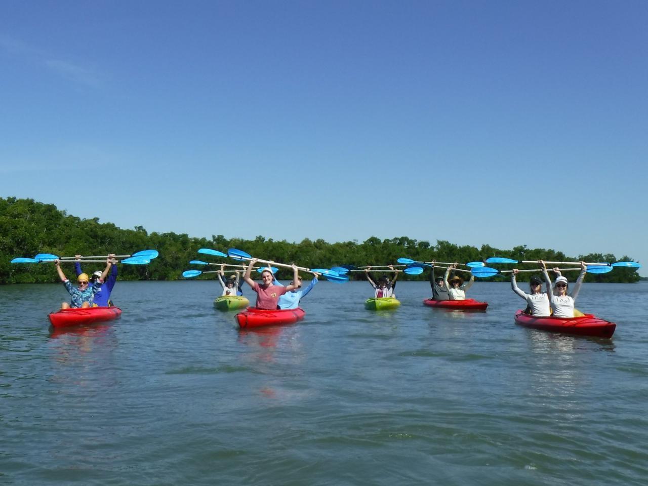 Estuary kayak tour