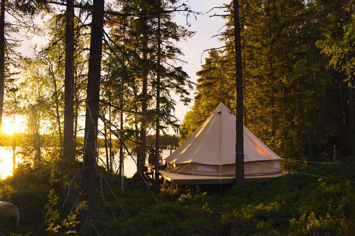 Kloten Lakeside Camp, 2 nights