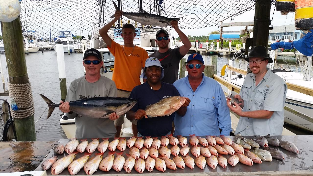 Deep Sea Fishing Shared Charter: Call 941-639-0969 for availability, not available online