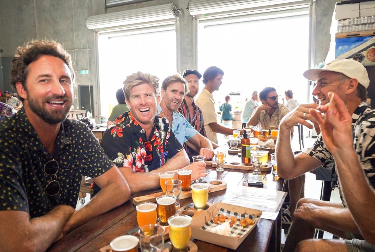 Golf, Hinterland Pub Tour & Brewery Visit