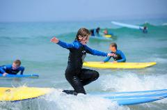 Surfing Tuition - Tolcarne Beach, Newquay