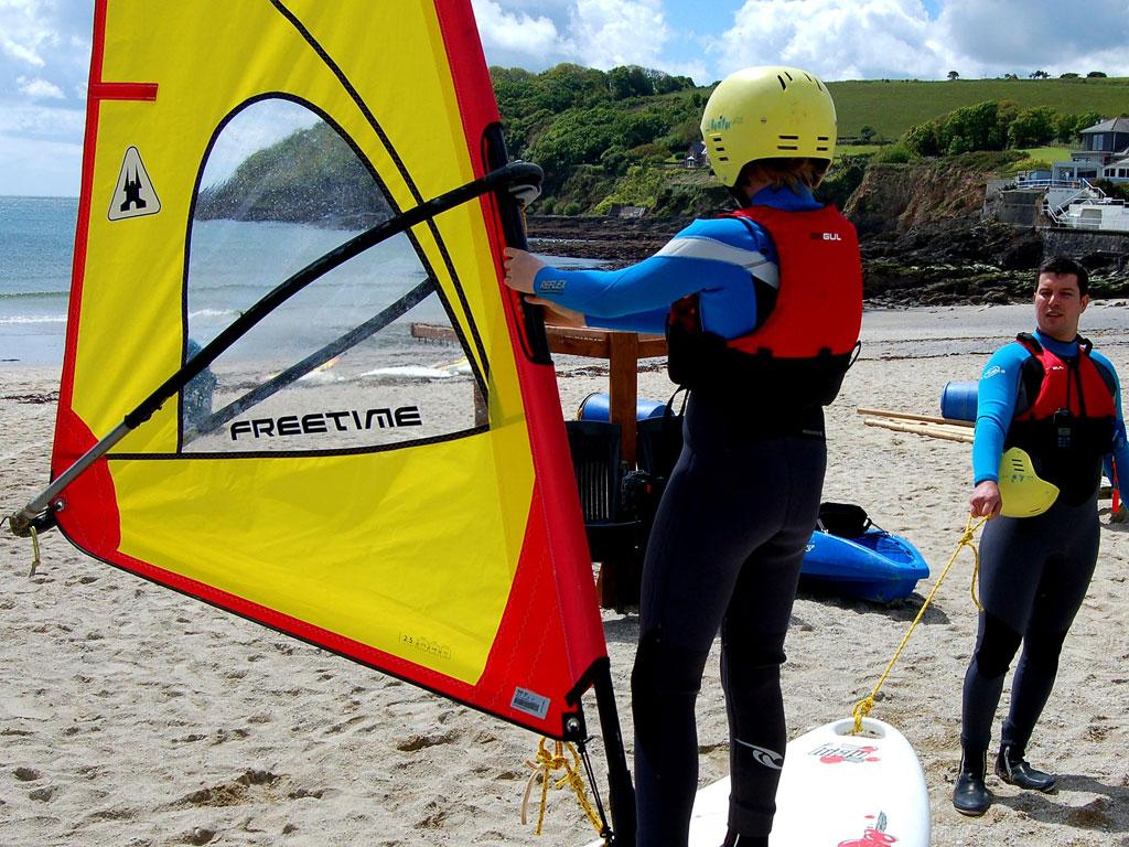 Windsurfing Tuition - Swanpool Beach, Falmouth