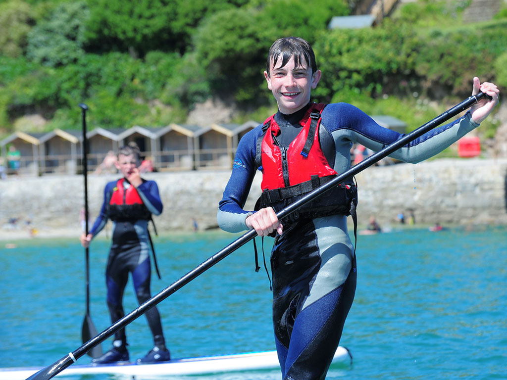 Stand up paddle boarding (SUP) Hire - Swanpool Beach, Falmouth