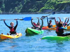 Kayak and Canoe  Tuition - Swanpool Beach, Falmouth