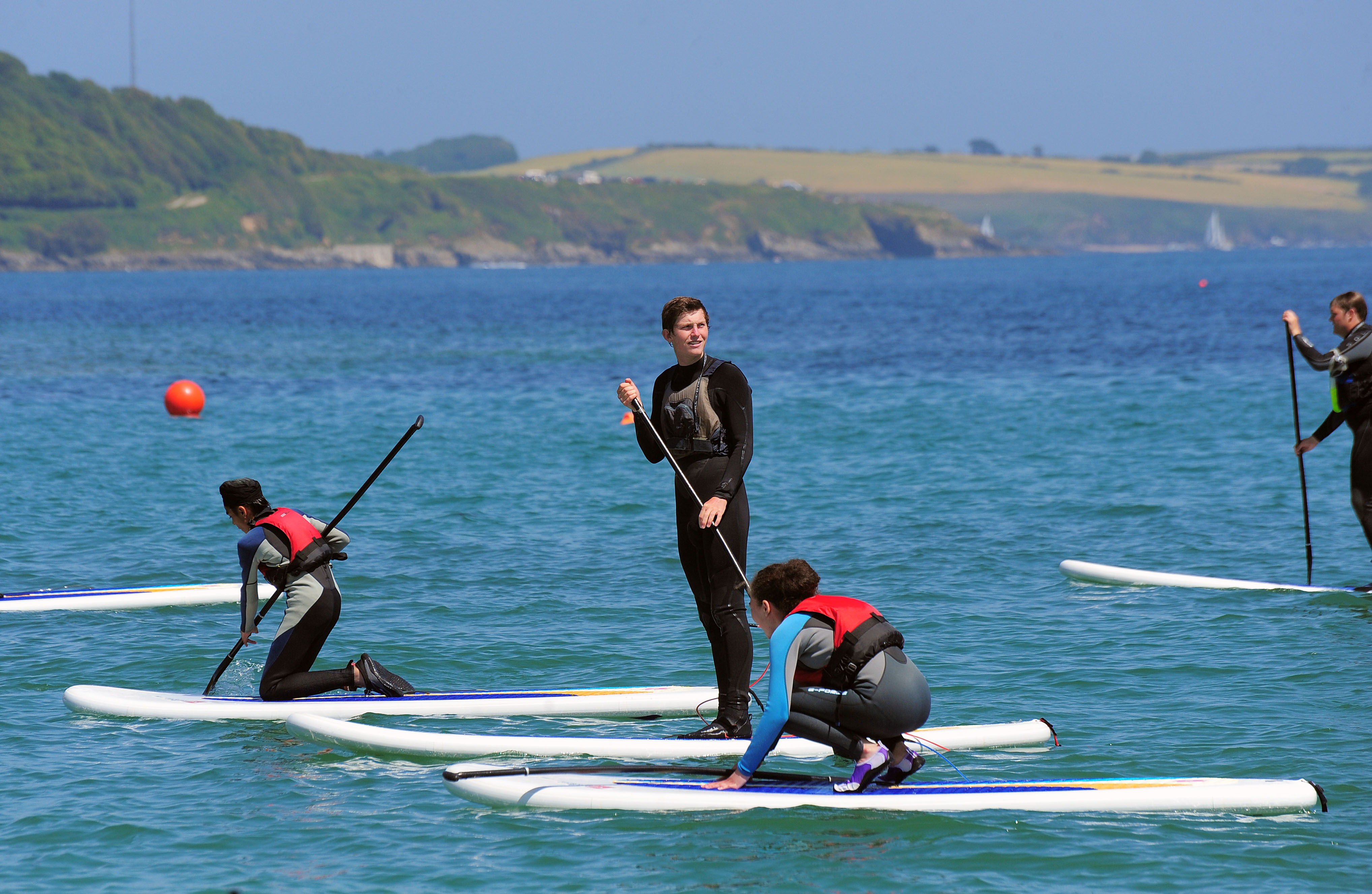 SUP Tuition - Stand up Paddleboarding - Swanpool Beach, Falmouth