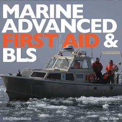 Marine Advanced First Aid BLS & AED