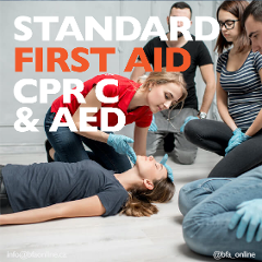Standard First Aid CPR C & AED