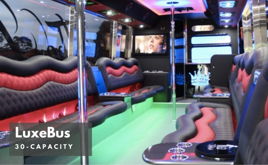 LuxeBus Hire - 22 or 30 Seater