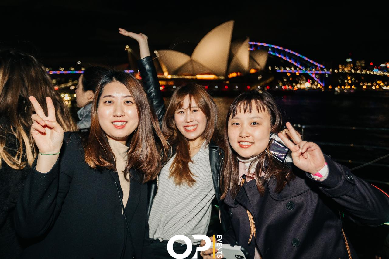 The ULTIMATE Vivid Sydney Harbour Cruise