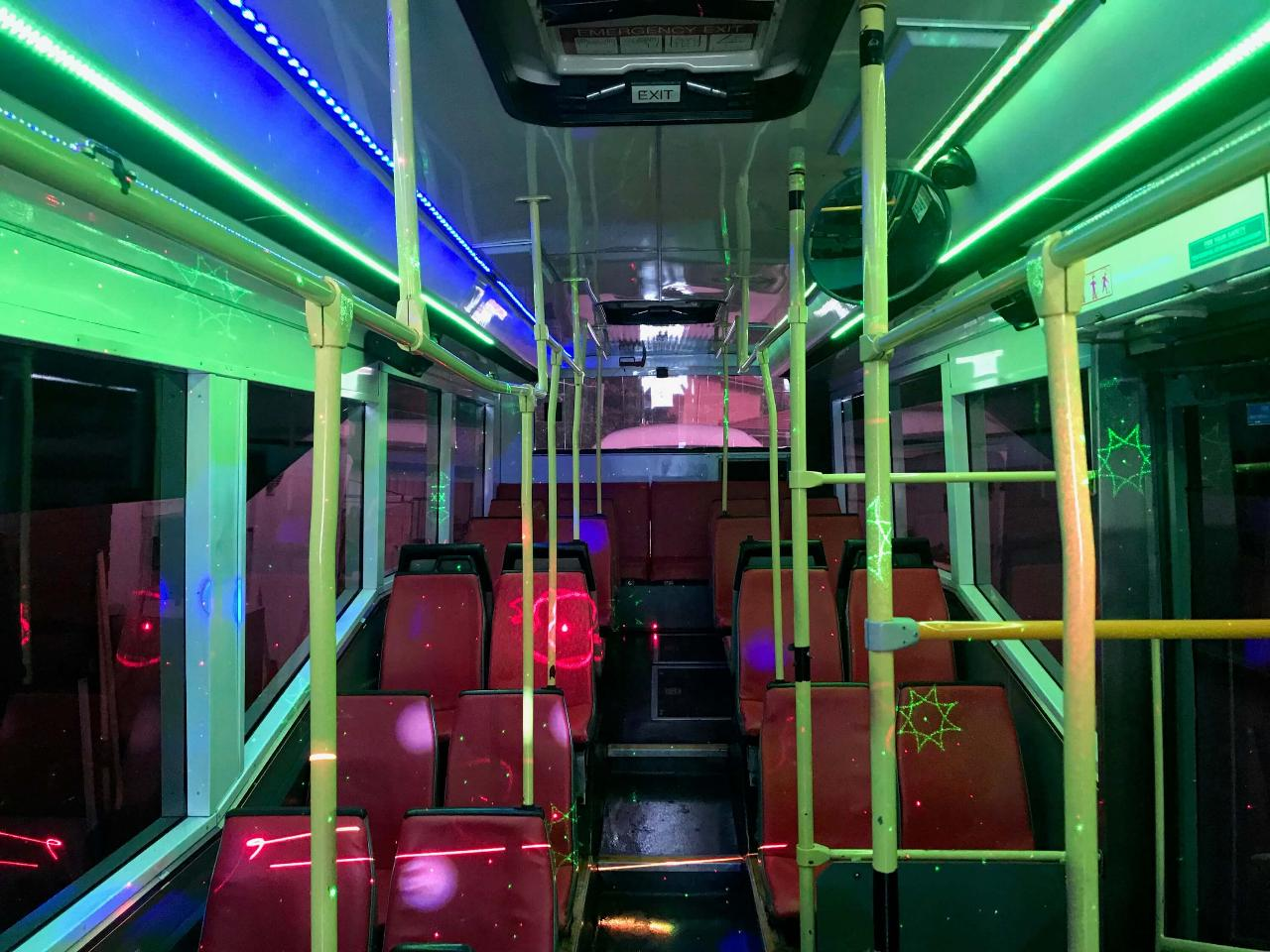 Partybus Hire - 50 Passengers