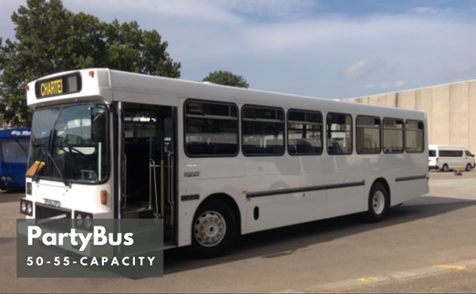 Partybus Hire - Max 50 Passengers