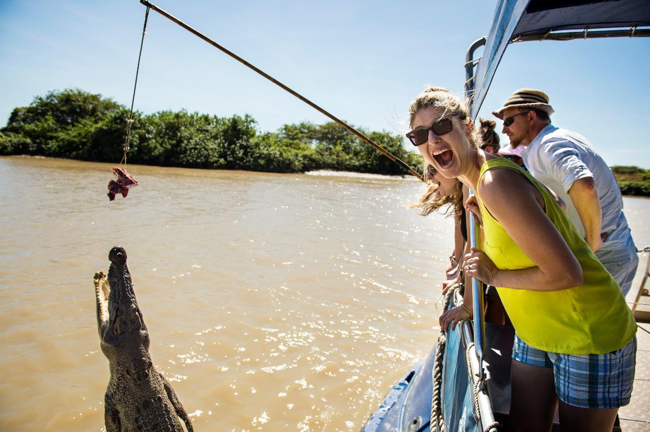 Wildlife Tours Australia: Jumping Crocodile Tour