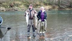Green River Salmon CATCHING