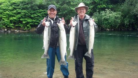 Summer Steelhead Fishing (Wynoochee & Cowlitz Rivers)