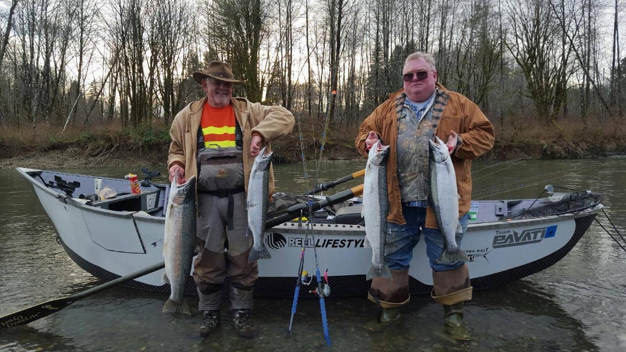 6 Hour Winter Steelhead  Fishing Adventures!